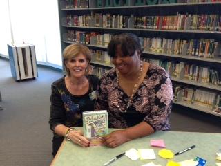Book signing Westchase Elementary
